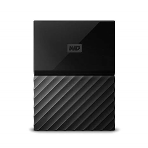 EXTERNAL HDD WD 2.5 1TB MY PASSPORT USB 3.0 SIYAH