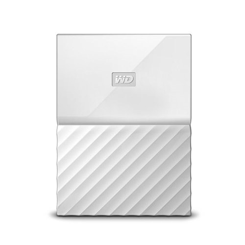 EXTERNAL HDD WD 2.5 1TB MY PASSPORT USB 3.0 BEYAZ